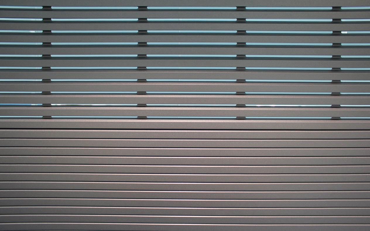 Persianas de aluminio de seguridad materiales de - Lamas persianas aluminio ...