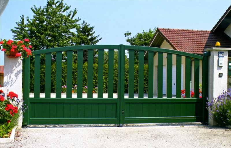 Puerta jardin aluminio for Puertas jardin aluminio